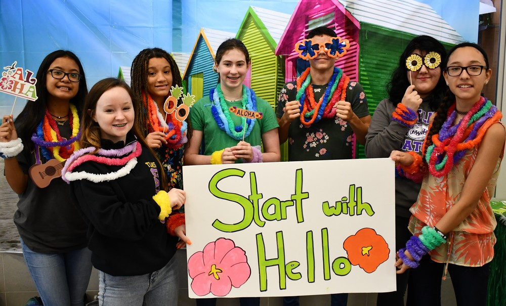 "Tyler ISD Participates in ""Start with Hello"" Week"