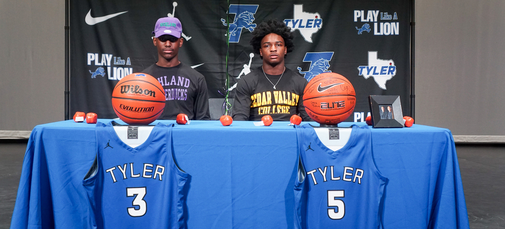 It's Signing Day for Two Tyler High School Basketball Athletes
