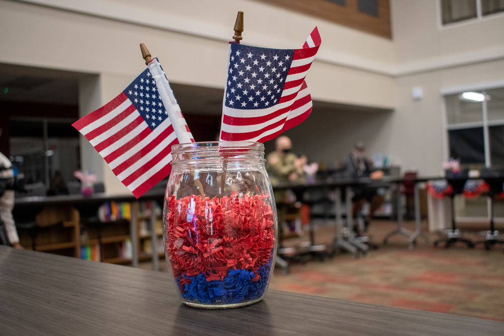 Tyler Legacy High School Celebrates Seniors Enlisting in U.S. Armed Forces