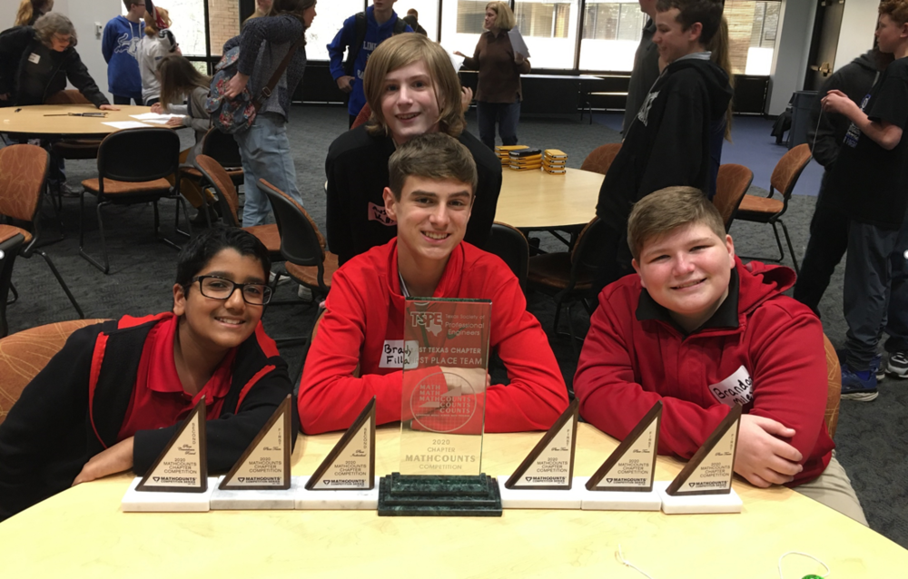 Moore MST MathCounts Advances to State Competition