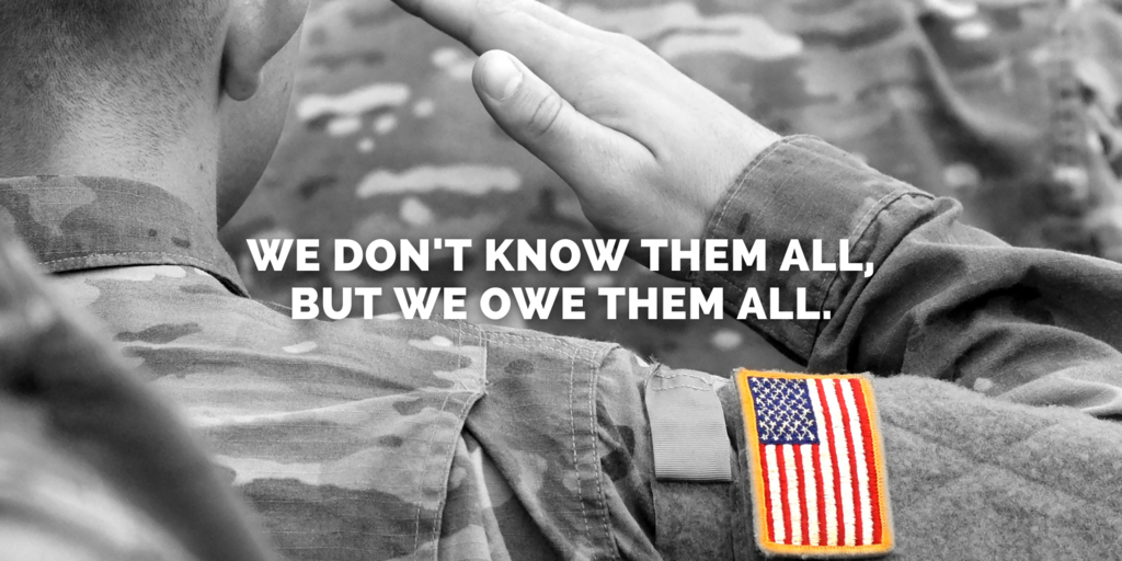 We don't know them all, but we owe them all.