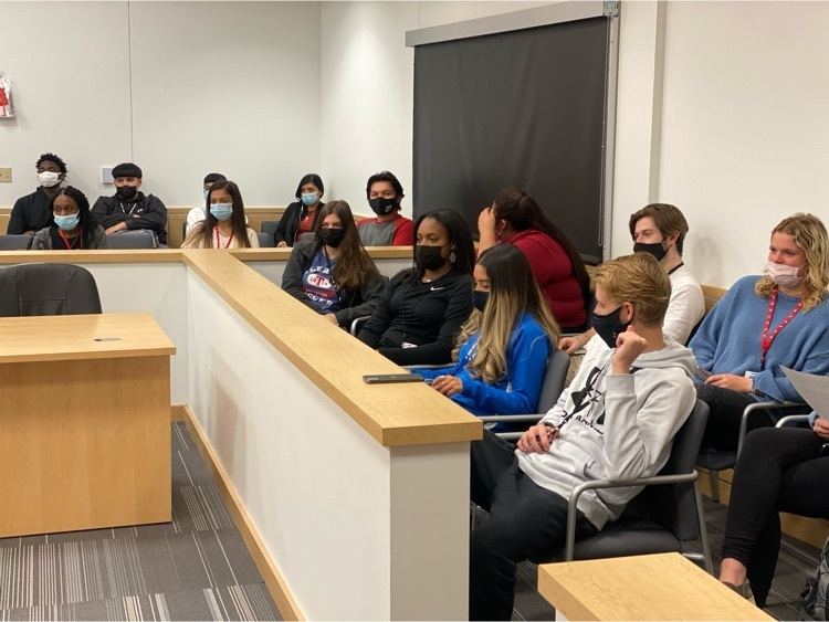 criminal justice students listen to campaign speeches