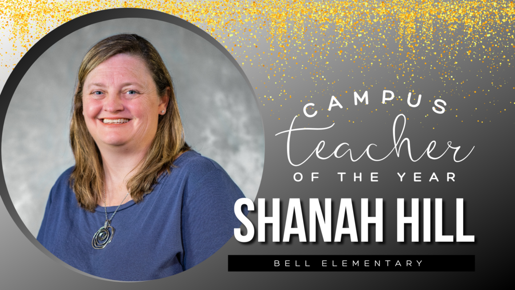 Campus Teacher of the Year Shanah Hill
