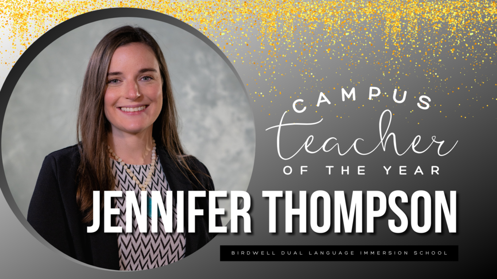 Campus Teacher of the Year Jennifer Thompson