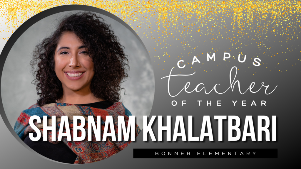 Campus Teacher of the Year Shabnam Khalatbari