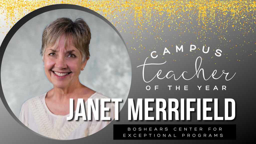 Campus Teacher of the Year Janet Merrifield