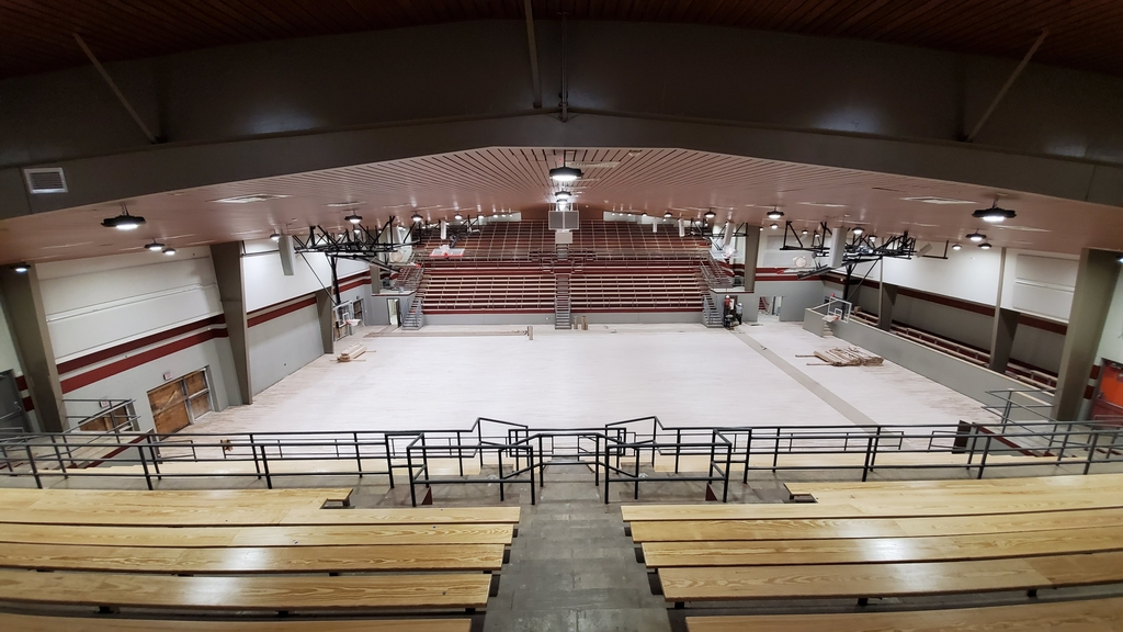 construction update on Tyler Legacy varsity gym