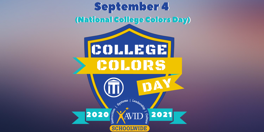 September 4 is National College Colors Day