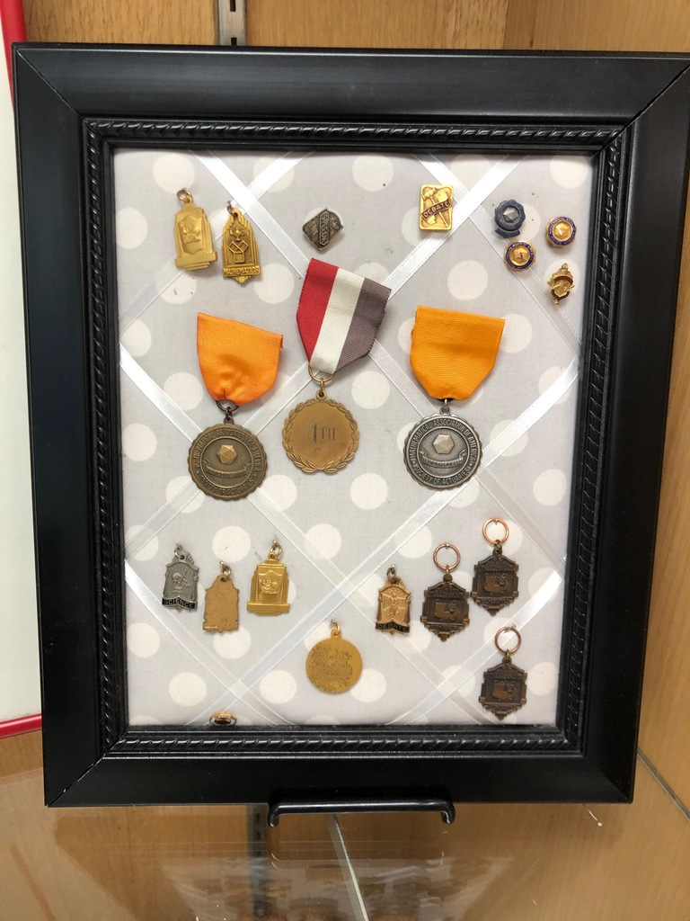 medals for Dr. Bryan C Jack