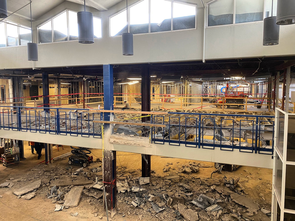 demolition update for Tyler High School