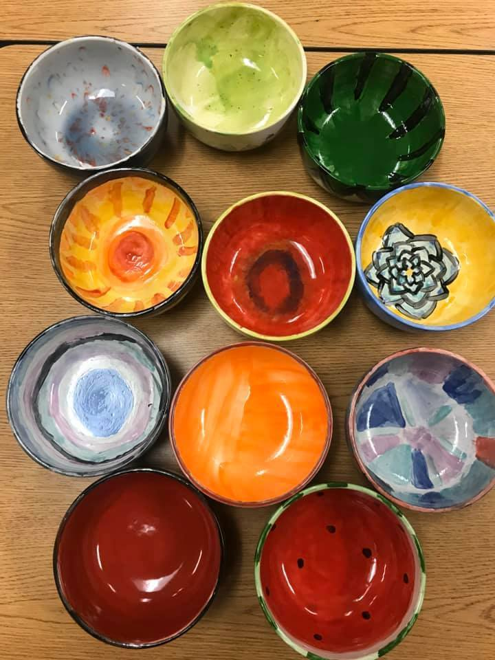 Empty Bowls event at Three Lakes